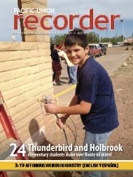Download this issue - Pacific Union Recorder - Adventistfaith.org