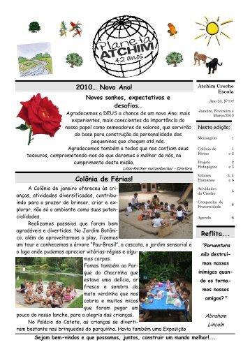 Jan/Fev/Mar - Atchim Jardim Escola
