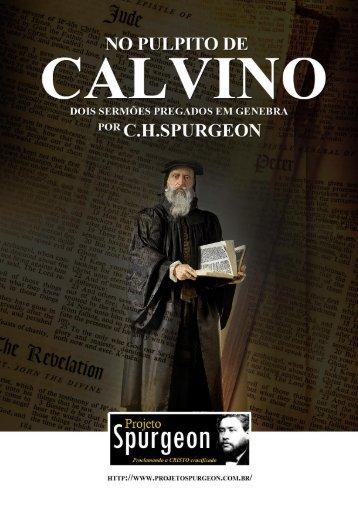 No Púlpito de João Calvino - Escola Charles Spurgeon
