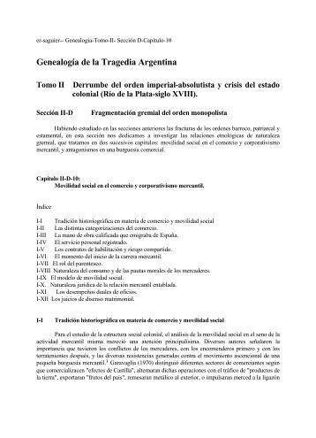 Movilidad social en el comercio y corporativismo mercantil.