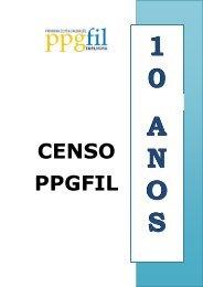 Censo 10 anos PPGFIL - cchla - Universidade Federal do Rio ...
