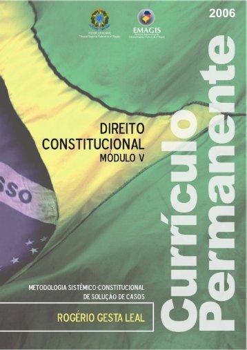 Prof. Dr. Rogério Gesta Leal - Tribunal Regional Federal da 4ª Região