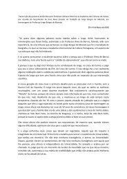 Transcrio das palavras proferidas pelo Professor Adriano ... - IICT