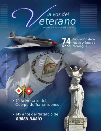 Febrero La Voz del Veterano.ai - La Guardia Nacional de Nicaragua