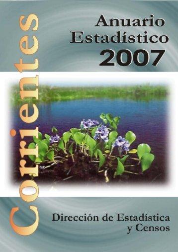 CORRIENTES - Dirección de Estadística y Censos