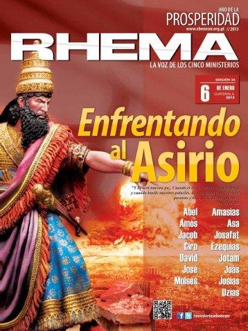 revista rhema enero 2013. - Radio Bethel