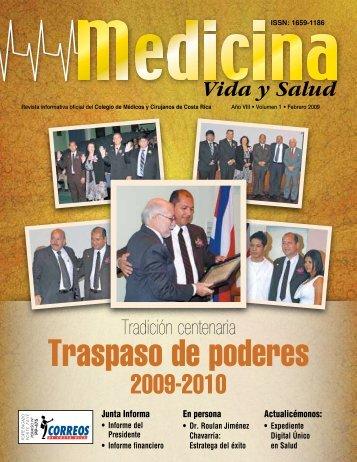 Traspaso de poderes - Colegio de Médicos y Cirujanos de Costa Rica