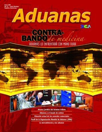 Revista Aduanas #23, Aduanas contra el contrabando de ... - DGA