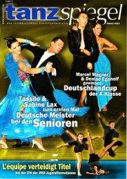 Tanzspiegel Ausgabe Januar 2011: Foto im ... - Renes Welt