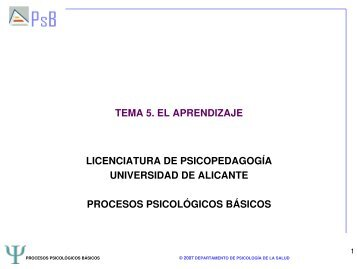 TEMA 5_PROCESOS PSICOLÓGICOS BASICOS.pdf - RUA ...