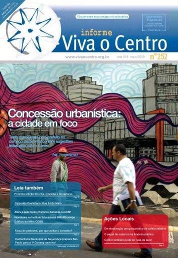 Concessão urbanística: - Viva o Centro