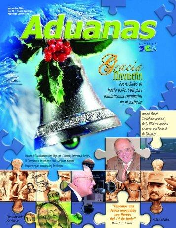 Revista Aduanas #22, Gracia navideña - DGA