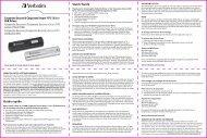 Corporate Secure & Corporate Secure FIPS Edition USB ... - Verbatim