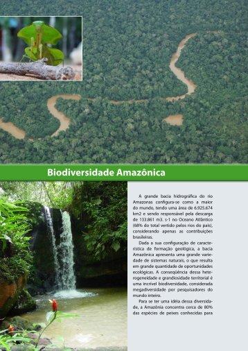 Biodiversidade Amazônica - Biblioteca da Floresta