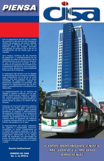 Gaceta Febrero 2008 - Corredor Insurgentes SA de CV