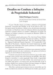 Desafios no Combate a Infrações de Propriedade Industrial - Emerj