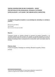 A indústria fonográfica brasileira e sua estratégia - Artigo Científico