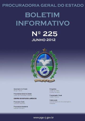 JUNHO/2012 - Governo do Estado do Rio de Janeiro