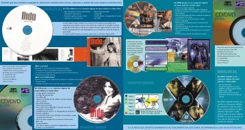 ¿Como identificar un CD pirata? - Federación para la Protección de ...