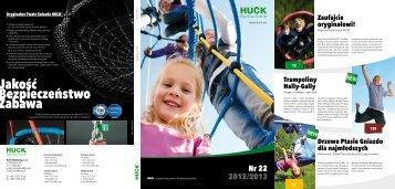 Katalog Place Zabaw 2012 - Huck