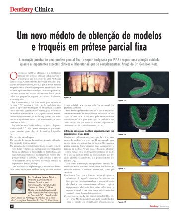 Artigo publicado em Dentistry Clinica - Clínica GSilva Neto