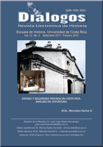 Escuela de Historia. Universidad de Costa Rica