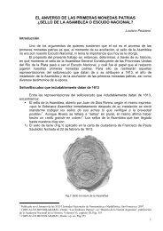 el escudo nacional y las primeras moendas patrias - Centro ...