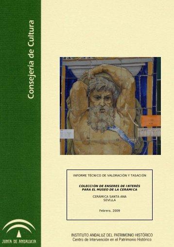 Informe Técnico de Valoración y Tasación de la Colección de ...