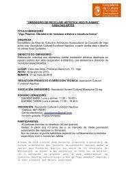 FICHA EXPOSICIÓN - Concello de Vigo