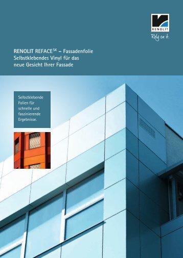 RENOLIT REFACE SK – Fassadenfolie Selbstklebendes Vinyl für ...