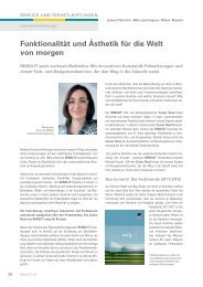 Magazin Zukunftsmotor Metropolregion Rhein-Nekar 01/2011 - Renolit