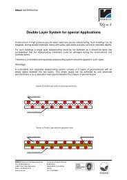 Double Layer System for special Applications - Renolit