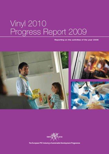 Vinyl 2010 Progress Report 2009 - roofcollect
