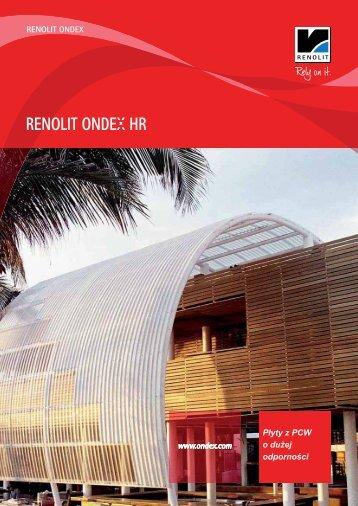 RENOLIT ONDEX HR