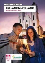 estland & lettland wiedergeburt einer kirche - Renovabis