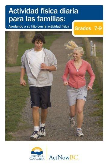 Actividad física diaria para las familias: - Education