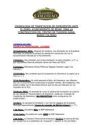 Cronologia Tramitacion Proyecto BC al 07-05-07.pdf - Béjar