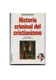 6. Historia criminal del cristianismo - Paganos de Costa Rica