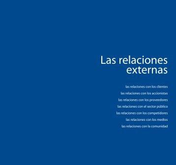 Las relaciones externas