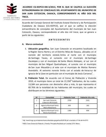 +ver anexo - Instituto Estatal Electoral y de Participación Ciudadana ...