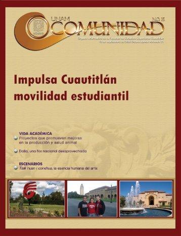 Editorial - Facultad de Estudios Superiores Cuautitlán - UNAM