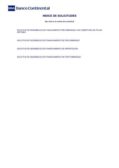 Banco Exterior: Financiamientos De Comercio Exterior