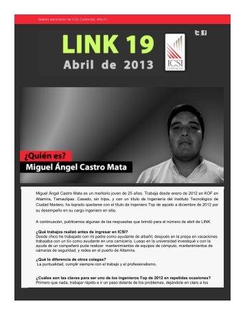Abril de 2013 - ICSI Comercial