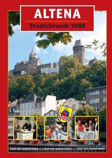 Chronik 2008 - Stadt Altena