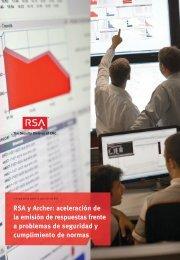 RSA y Archer: aceleración de la emisión de respuestas frente a ...
