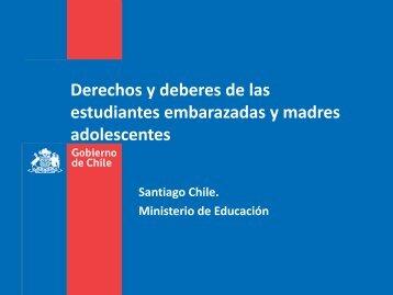 Derechos y deberes de estudiantes embarazadas y madres