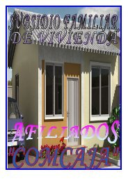 Información de vivienda para Afiliados - Comcaja