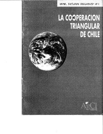 Cooperación Triangular en Chile - Agencia de Cooperación ...