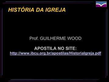 Historia da Igreja-aula02_slides.pdf - IBCU
