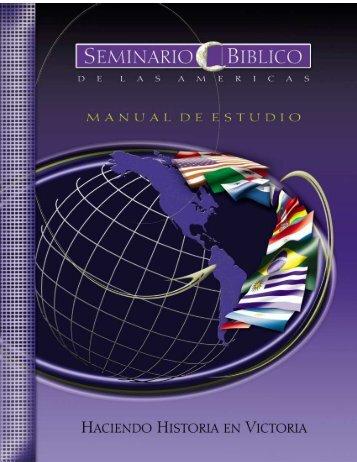 historia de la iglesia - Seminario Biblico de las Américas